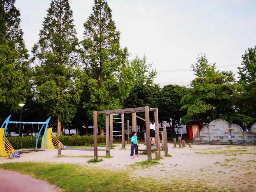 うずしおふれあい公園の遊具