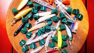 メッキ釣りに活躍するルアーの集合