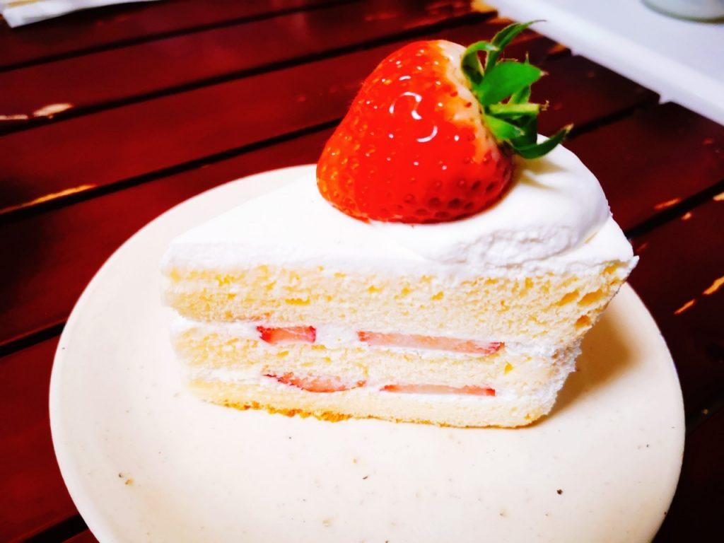 パティスリープリュスのショートケーキ