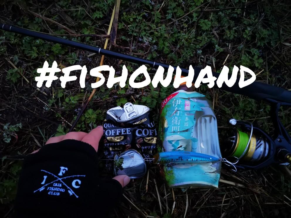 ゴミ拾い清掃活動(fishonehand)