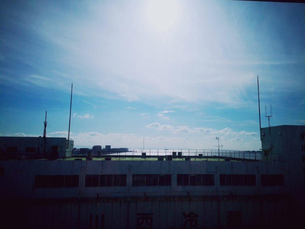 神戸税関食堂からの景観