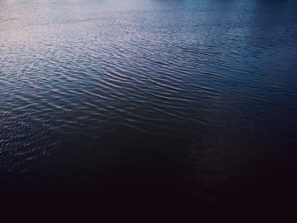 朝マヅメにシーバス4本釣ったポイント。本流とブレイクがちょうど絡む2020.1