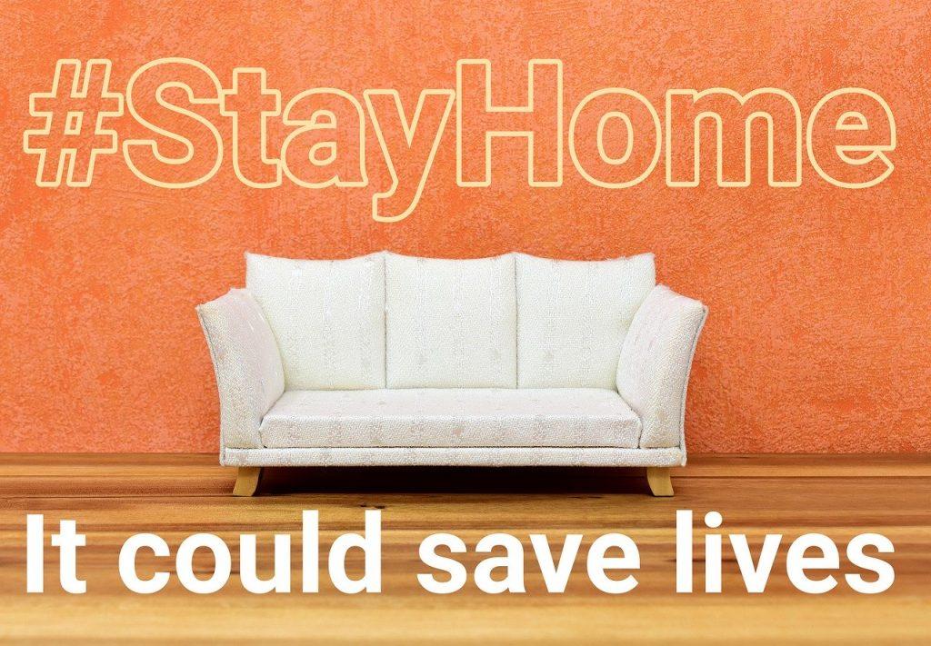 新型コロナウイルス対策(stayhome,家にいよう)