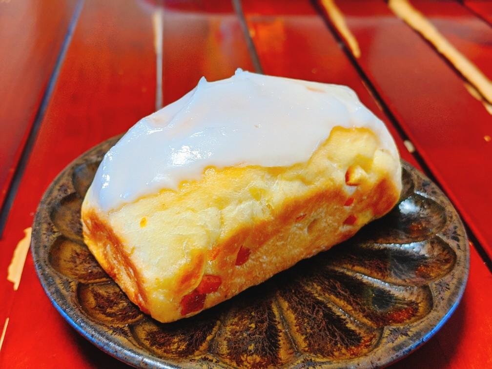 ブーランジェリータニグチのケーキのようなオレンジパン