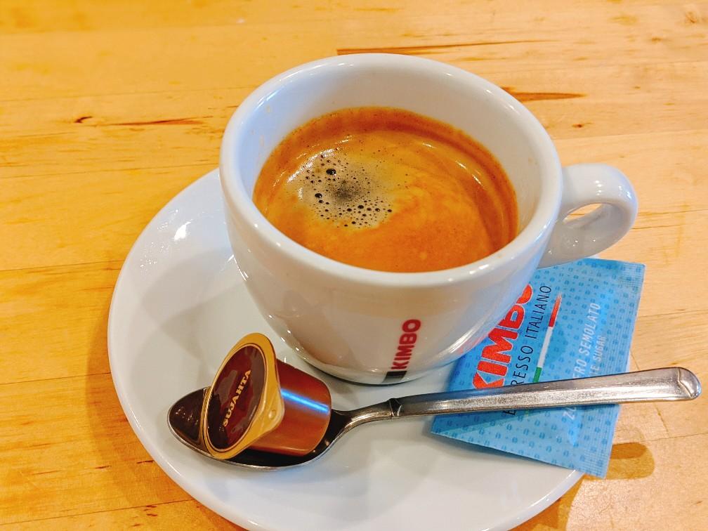 淡路島洲本ダイニングスペースベルデのコーヒー