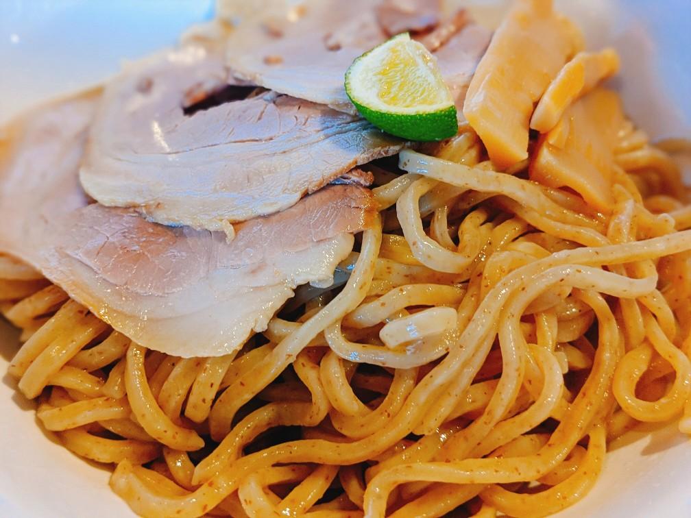 銀麺のつけ麺