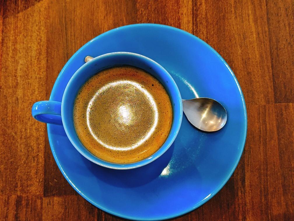 カフェマアルのホットコーヒー