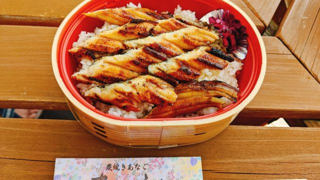 あさじの焼き穴子丼(大)