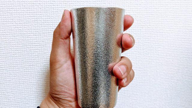 能作の錫製ビールグラス200cc(501330)