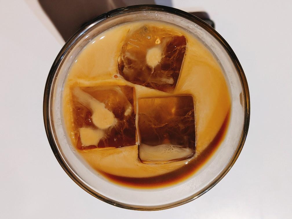 ジロデアワジのカフェラテ