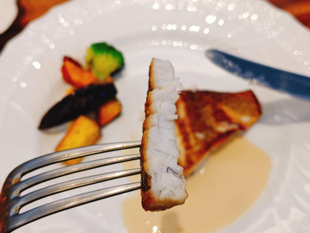 いたりあ亭の真鯛のポワレ