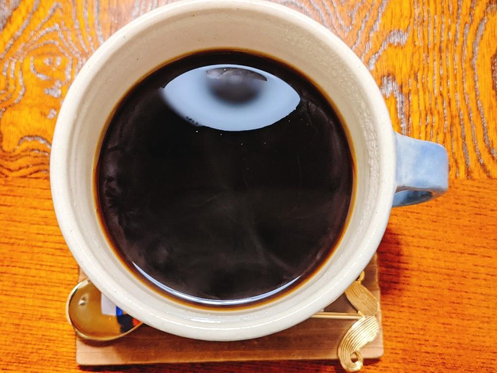 ふくカフェのクリスマスブレンドコーヒー(450円)