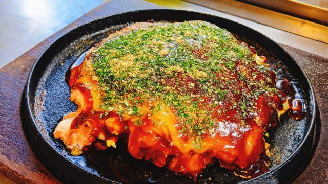 嘉もんの明太もちチーズお好み焼き